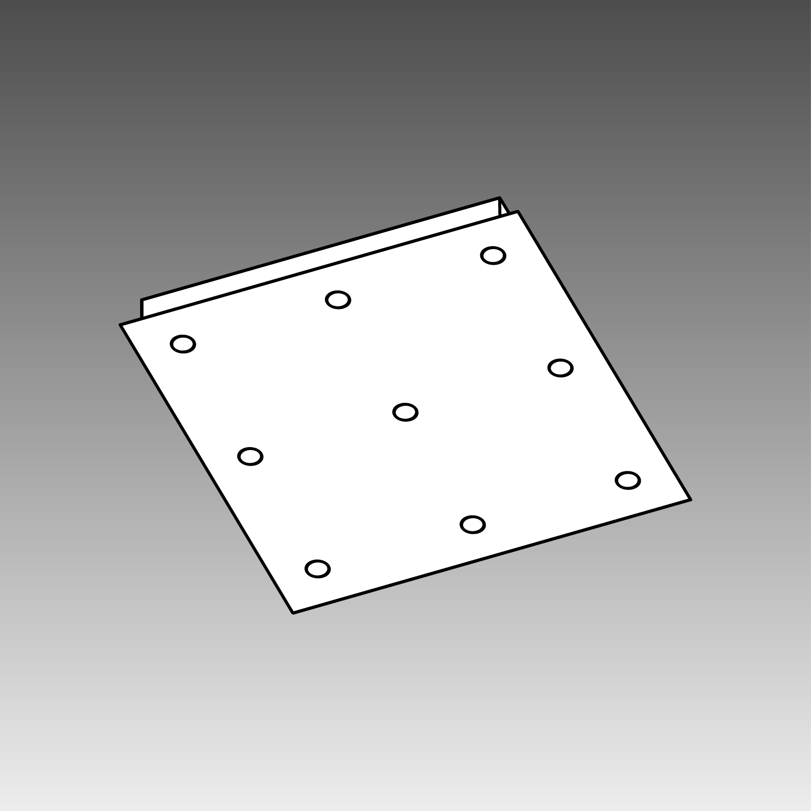 CEILING BASE SQUARE 9